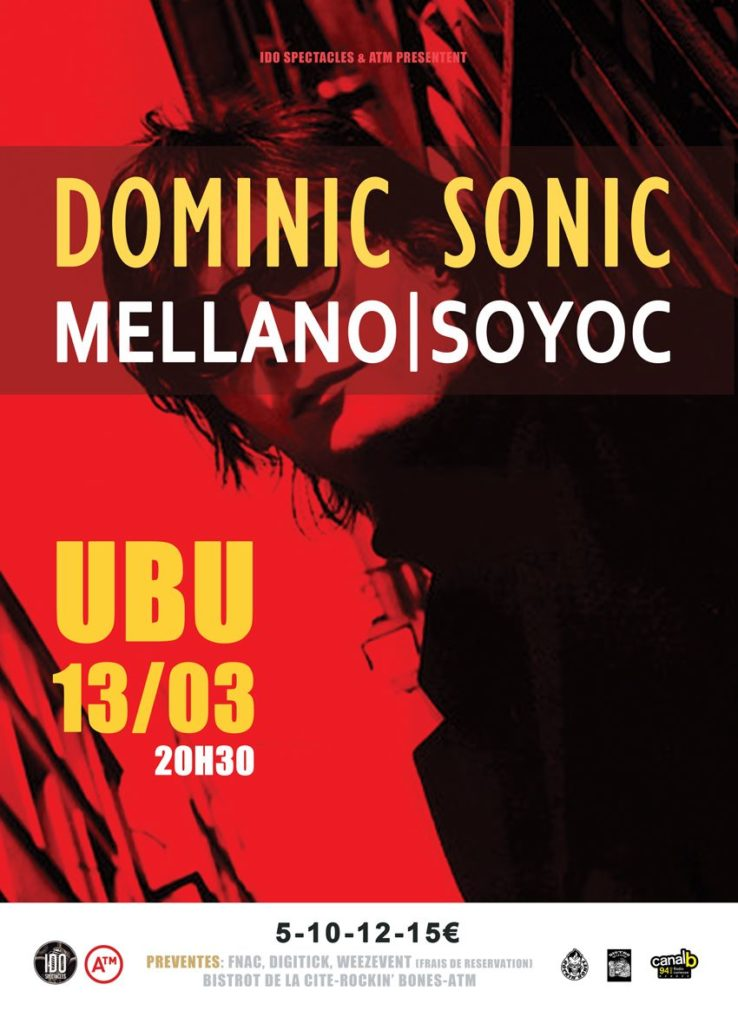 Concert Sonic | Mellano Soyoc